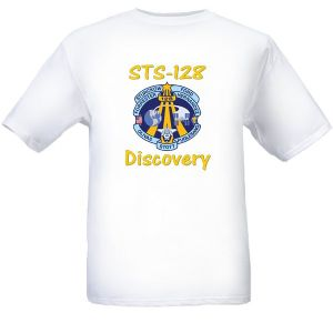 NASA Space Shuttle STS-128 Mission Logo 'T' Shirt - Size 'L'